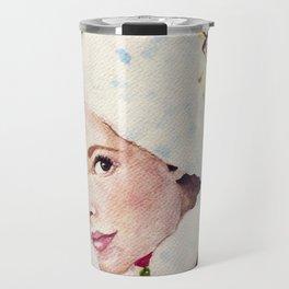 a pretty face Travel Mug