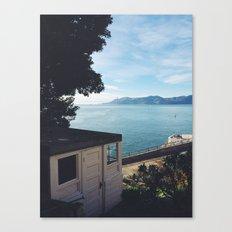 Alcatraz view of San Francisco. Canvas Print