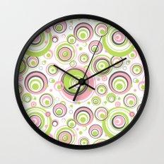 Scrambled Circles Wall Clock