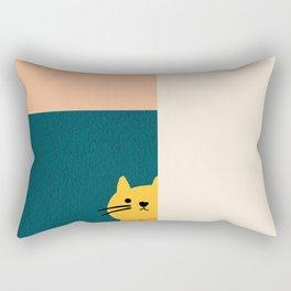 Little_Cat_Cute_Minimalism Rectangular Pillow