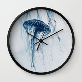 Deep Blue Sea #4 Wall Clock