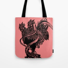 """""""YEAR OF THE ROOSTER"""" Tote Bag"""
