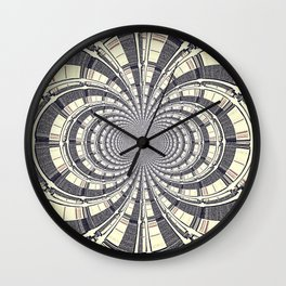 KALEIDOSCOPIQUE Wall Clock