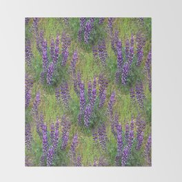 Lupines Galore.... Throw Blanket