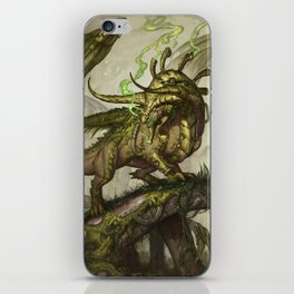 Zodiac Dragons Calendar Taurus iPhone Skin