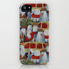 ghosts going to the beach iPhone Case