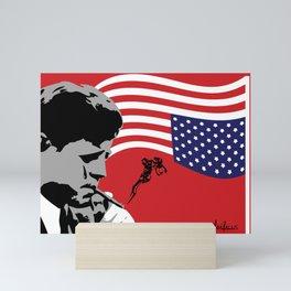 Star Spangled Assassination - JFK Mini Art Print