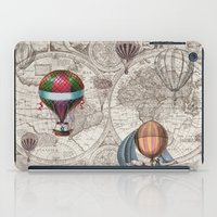 hot air balloons iPad Cases featuring Hot Air Balloons by Color and Form