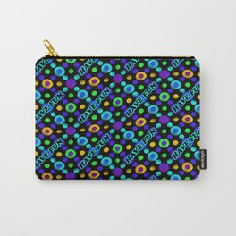 Have Fun Multicolored Text Pattern Carry-All Pouch