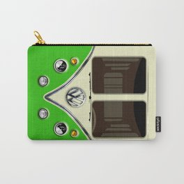 Sale for charity! Green VW volkswagen mini van bus kombi camper iphone 4 4s 5 5c & galaxy s4 case Carry-All Pouch