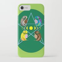 goddess iPhone & iPod Cases featuring Goddess by Watch House Design