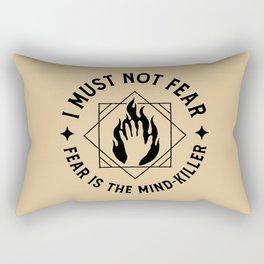 I must not fear II Rectangular Pillow