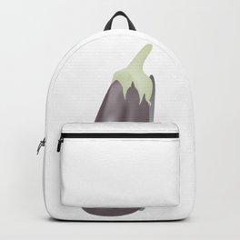 Eggplant Backpack