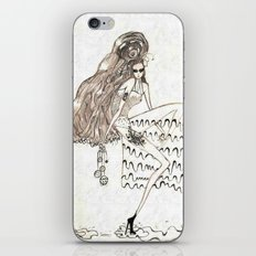 Christmas frost iPhone & iPod Skin