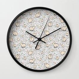 Brown Bears Wall Clock