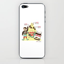 I {❤} NUTELLA iPhone Skin