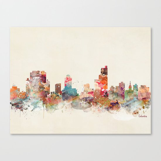 columbia south carolina Canvas Print