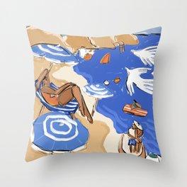 Capri, Italia Throw Pillow