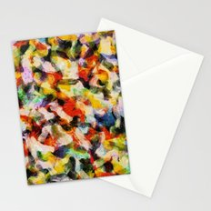 Starry halftone Stationery Cards