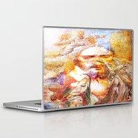 faith Laptop & iPad Skins featuring Faith by Ganech joe
