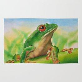 Green Treefrog Rug