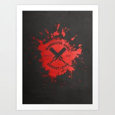 Winchester Arms Cricket Club Art Print