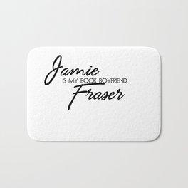 Jamie Fraser Book Boyfriend Bath Mat