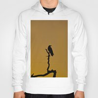silhouette Hoodies featuring Silhouette by Ian Bevington
