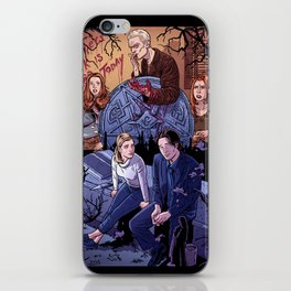 Conversations With Dead People iPhone Skin