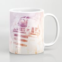 r2d2 Mugs featuring R2D2 by eARTh
