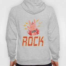 Hand Horns Rock Band Distressed products for Men Women Kids Hoody