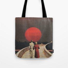Sunset Glow Tote Bag