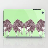 sheep iPad Cases featuring Sheep by Monique Turchan