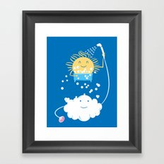 The Sunbathing Framed Art Print