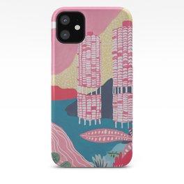 Marina City - Chicago - Modernist Architectur iPhone Case