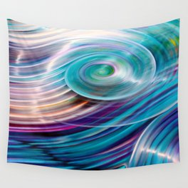 Suddenly Sapphire Wall Tapestry