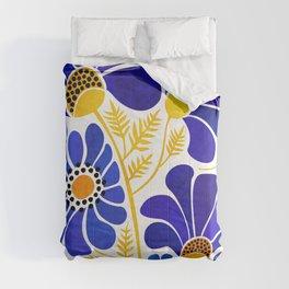 The Happiest Flowers Comforters