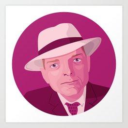 Queer Portrait - Truman Capote Art Print