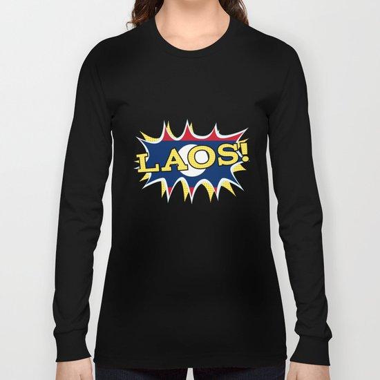 Laos Long Sleeve T-shirt