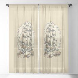 Homeward bound Sheer Curtain