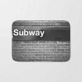 Subway Bath Mat