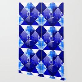 Triangle Blue Wallpaper