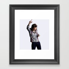 Harry Styles Made In The Am Framed Art Print