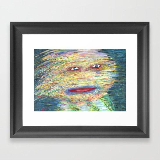 It's A Shame Framed Art Print