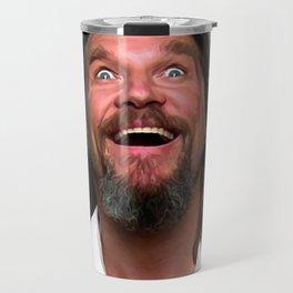 Jeff Bridges As The Dude Travel Mug