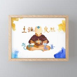 Avatar The Last Airbender Framed Mini Art Print
