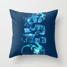 Dungeon Crawlers Throw Pillow