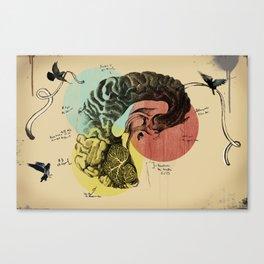 Messages Canvas Print