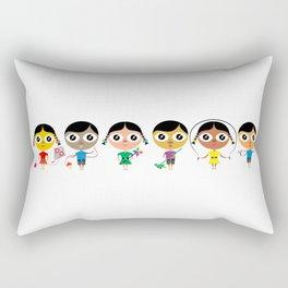 Kids play Rectangular Pillow