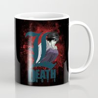 death note Mugs featuring Death Note by feimyconcepts05